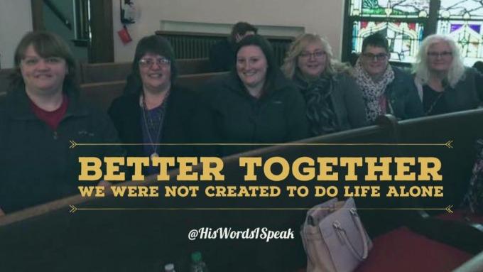 Better Together - Lisa Smith - His Words I Speak