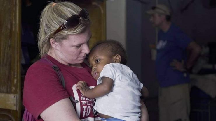 Paula's Haiti Trip Day 1 - HWIS - Feed My Starving Children